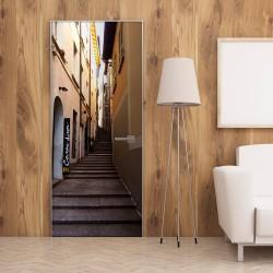 Fototapeta na drzwi - Letnia uliczka
