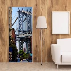 Fototapeta na drzwi - Nowy Jork: Most