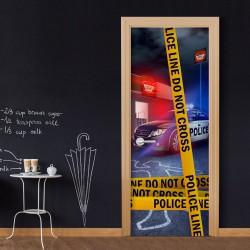 Fototapeta na drzwi - Do Not Cross