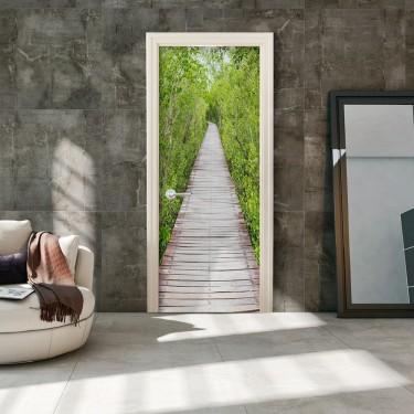 Fototapeta na drzwi  Ścieżka natury
