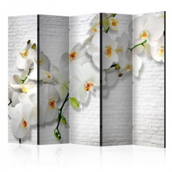 Parawan 5częściowy Miejska orchidea II [Parawan]