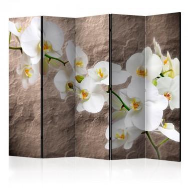 Parawan 5częściowy  Nieskazitelność orchidei II [Parawan]