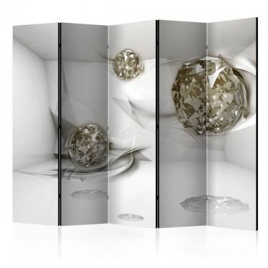 Parawan 5częściowy  Abstrakcyjne diamenty II [Parawan]