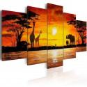 Obraz Gorące Safari
