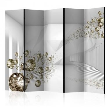 Parawan 5częściowy  Diamentowy korytarz II [Parawan]