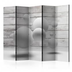 Parawan 5-częściowy - Kule II [Room Dividers]