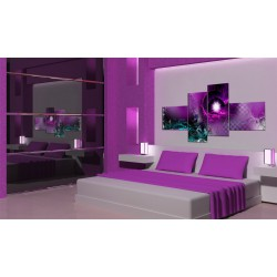 Obraz  Błysk fioletu