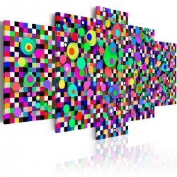 Obraz - Kolorowy zawrót głowy