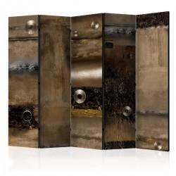 Parawan 5-częściowy - Metalowe przymierze II [Room Dividers]