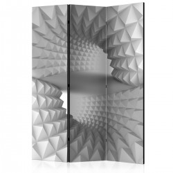 Parawan 3-częściowy - Strukturalny tunel [Room Dividers]