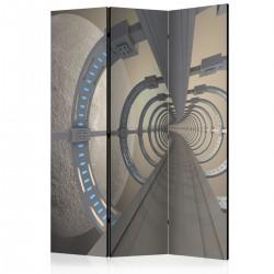 Parawan 3-częściowy - Kosmiczny tunel [Room Dividers]