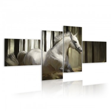 Obraz  Rozpędzony koń