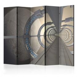 Parawan 5-częściowy - Kosmiczny tunel II [Room Dividers]