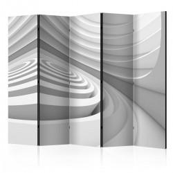 Parawan 5-częściowy - Geometryczny tunel II [Room Dividers]