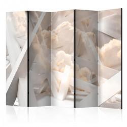 Parawan 5-częściowy - Świątynia nieba II [Room Dividers]