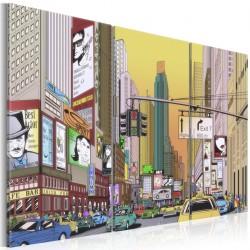 Obraz - Miasto z komiksu