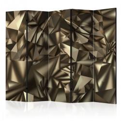 Parawan 5-częściowy - Abstrakcyjna symetria II [Room Dividers]