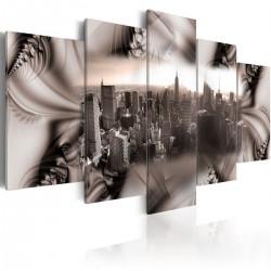 Obraz - Miasto ze stali