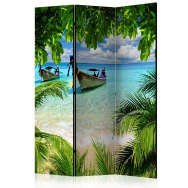 Parawan 3częściowy  Tropikalny raj [Parawan]