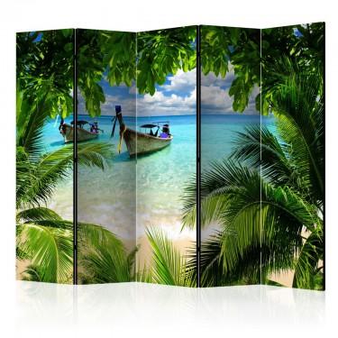 Parawan 5częściowy  Tropikalny raj II [Parawan]