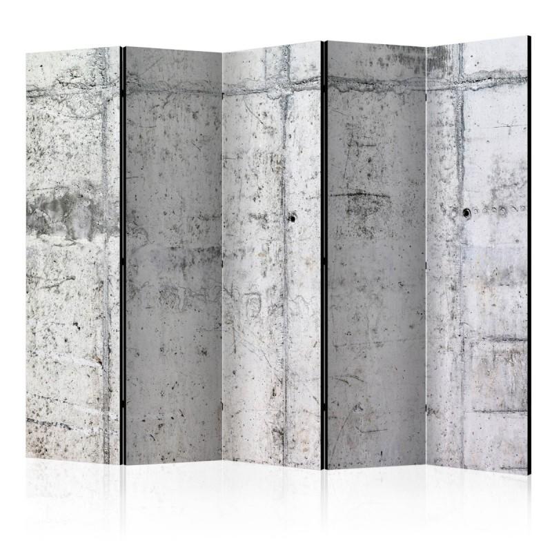 Parawan 5częściowy  Betonowa ściana II [Parawan]