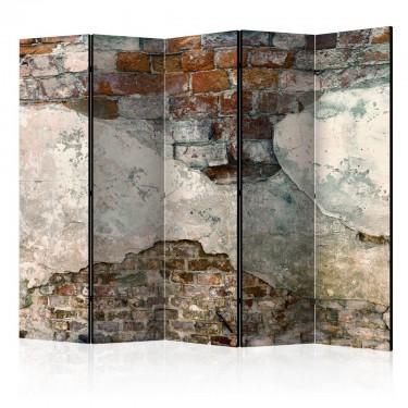 Parawan 5częściowy  Skruszone mury II [Parawan]