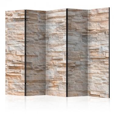 Parawan 5częściowy  Kamienne wyrafinowanie II [Parawan]