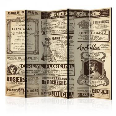 Parawan 5częściowy  Vintage Magazines II [Parawan]