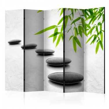 Parawan 5częściowy  Kamienie Zen II [Parawan]
