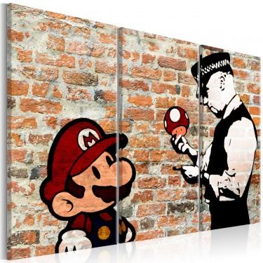 Obraz  Przyłapany Mario