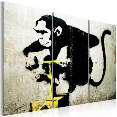 Obraz  Monkey TNT Detonator by Banksy
