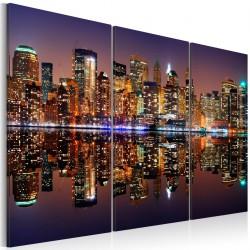 Obraz - Nowy Jork w tafli wody