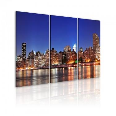 Obraz  NYC  miasto miliona świateł