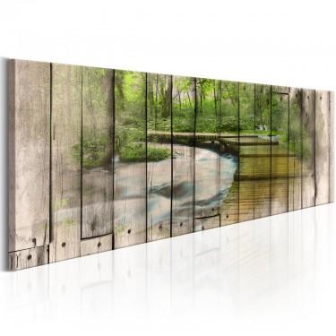 Obraz  Rzeka wspomnień