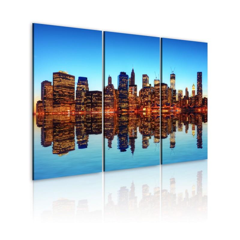 Obraz  Tysiące świateł  Nowy Jork