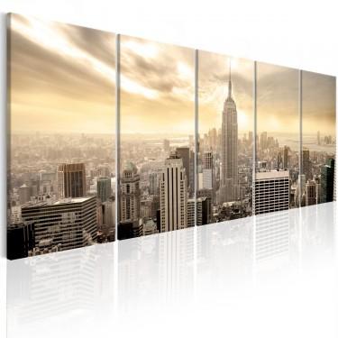Obraz  Nowy Jork Widok na Manhattan