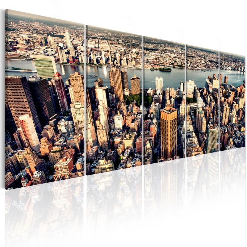 Obraz  Lot nad Nowym Jorkiem