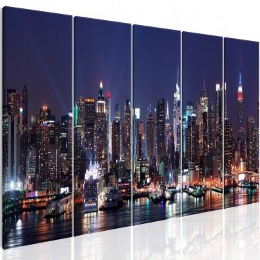Obraz  Nowy Jork Życie nocą