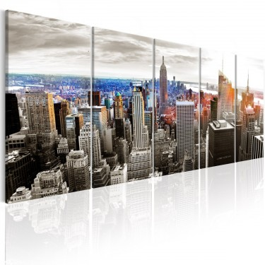 Obraz  Nowy Jork Szare wieżowce