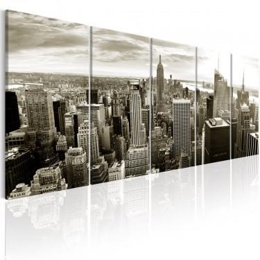 Obraz  Szary Manhattan