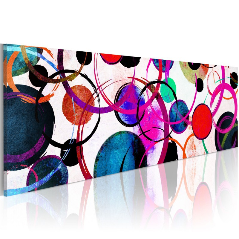 Obraz  Kolorowe koła