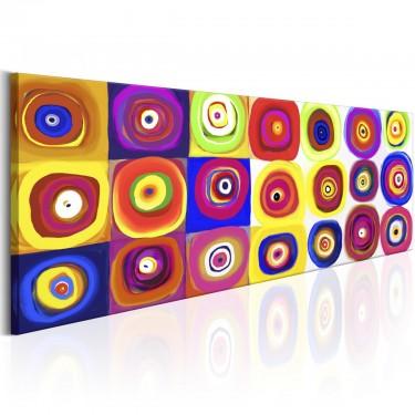 Obraz  Kolorowa karuzela