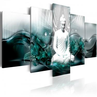 Obraz  Lazurowa medytacja