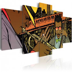 Obraz  Jazz w komiksie