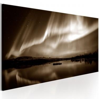 Obraz  Jezioro w sepii