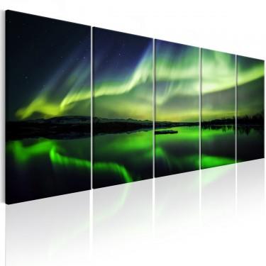 Obraz  Zielone niebo I