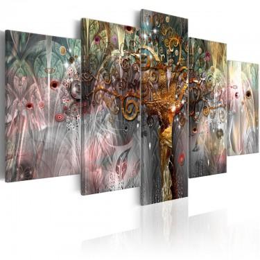 Obraz  Złote drzewo II