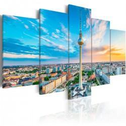 Obraz  Wieża telewizyjna w Berlinie
