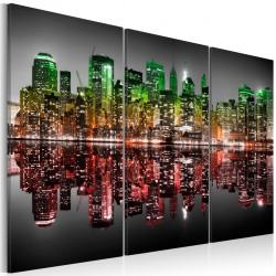 Obraz - Tęczowy Manhattan