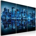 Obraz Niebieski Manhattan